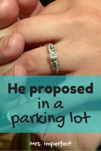 he proposed