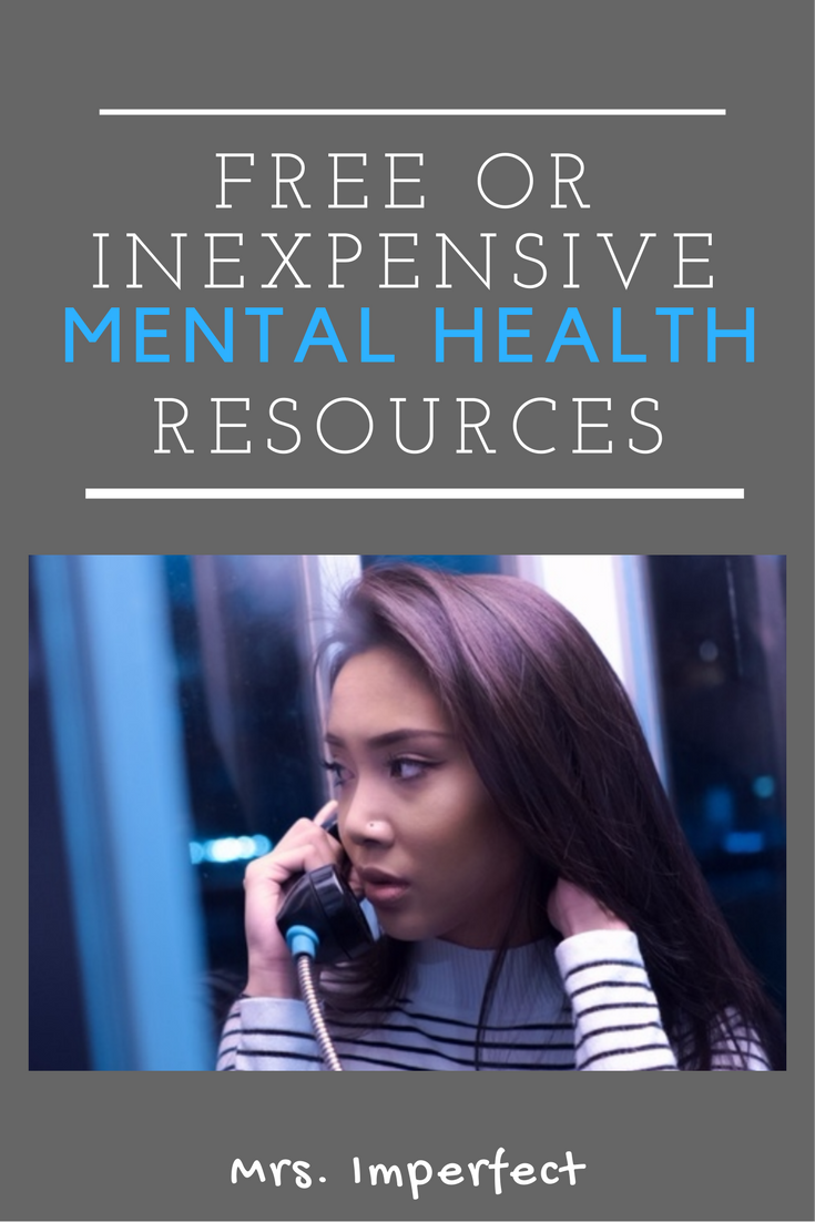 Free or Inexpensive Mental Health Resources