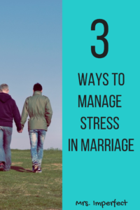ways to manage stress in marriage